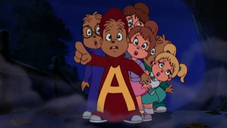 Film Review – Alvin and the Chipmunks  Meet The Wolfman (2000)