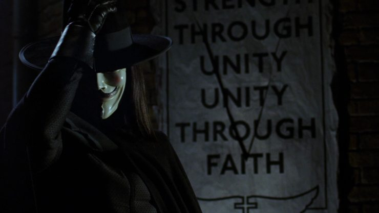 Film Review – V For Vendetta (2005)
