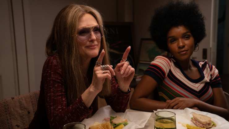 Watch Trailer For The Glorias Starring Julianne Moore