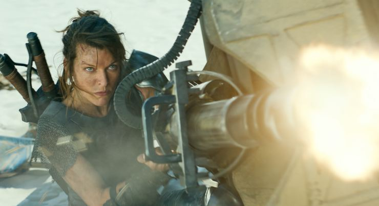 Milla Jovovich Is The Monster Hunter Watch The Trailer!