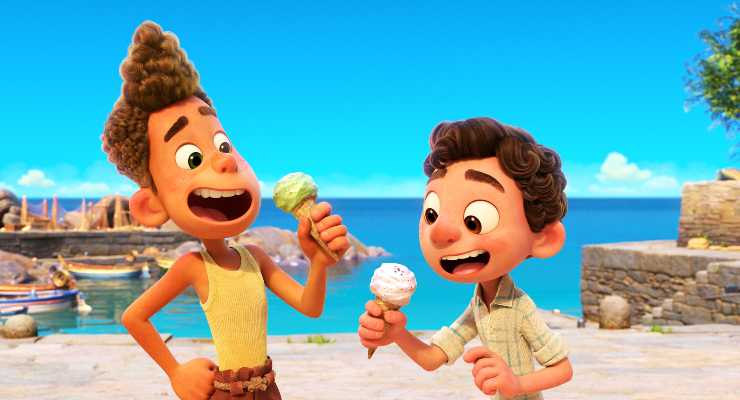 Disney Pixar's Luca Splashes Online In August