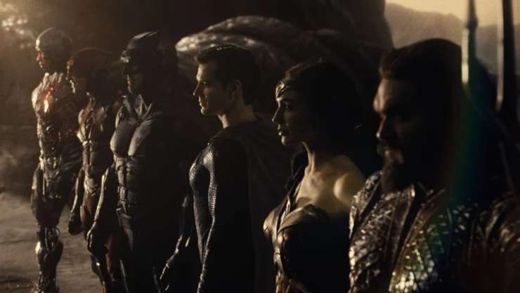 Zack Snyder's Justice League Stays At Top In Official Film Chart