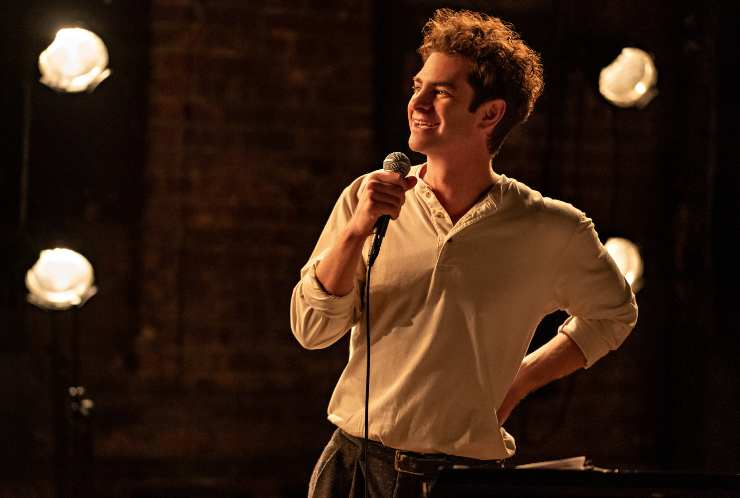 First Look Images For Andrew Garfield In tick, tick…BOOM!