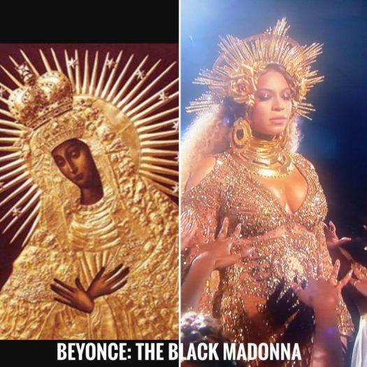Beyonce as the Black Madonna - @PeoplesOracle