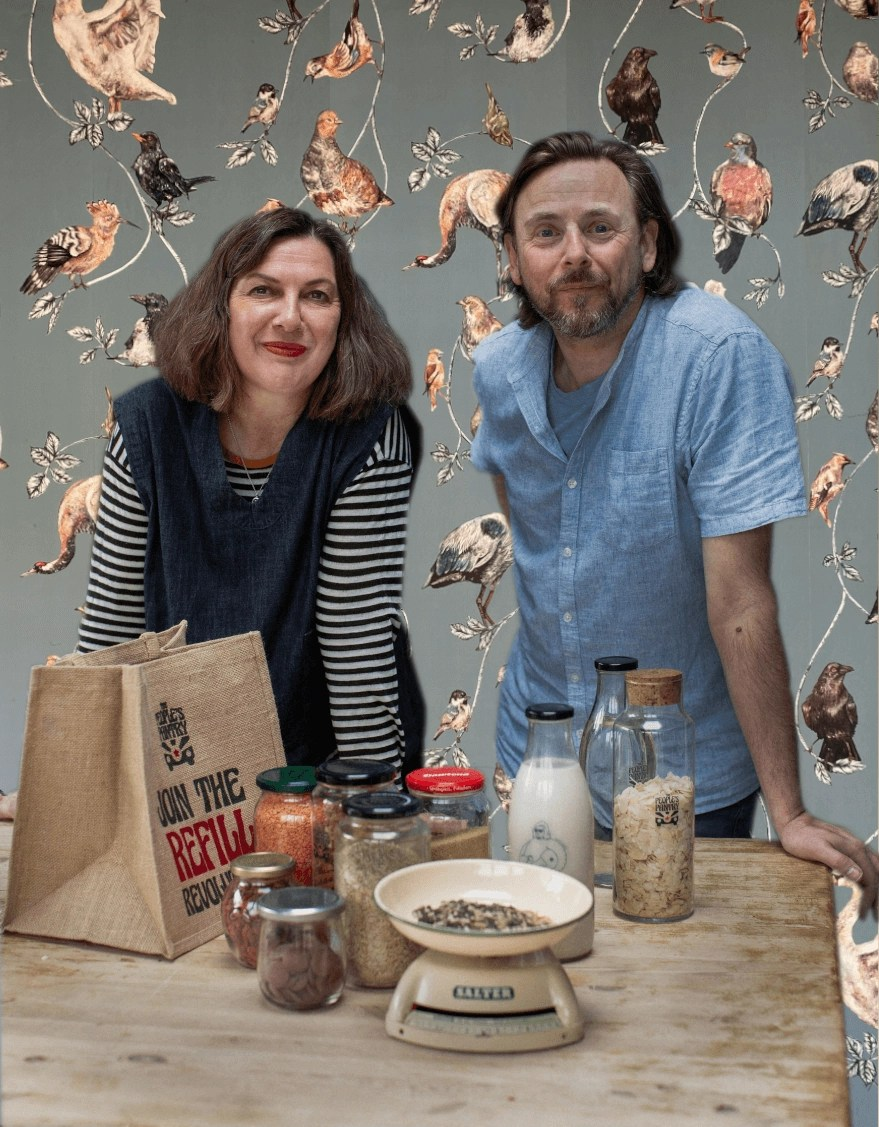 The People's Pantry are Lisa & Thomo