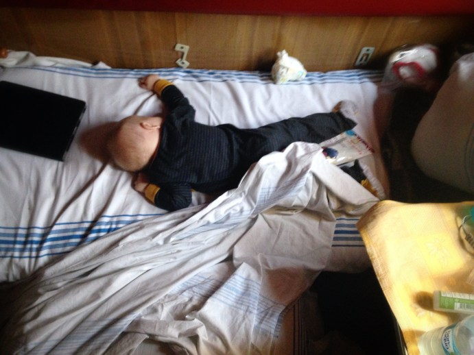 ahh, sleep. finally after 18+ hours, we were almost to Lugansk!