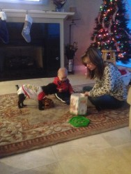 playing with Aunt Jenna & Switch