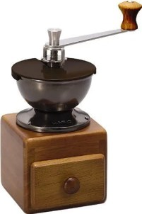 HARIO Small Coffee Grinder MM-2 Ceramic Burr COFFEE HAND Mill Grinder