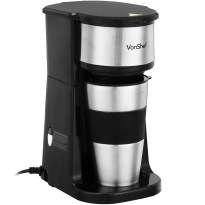 vonshef-one-cup-personal-filter-coffee-machine-with-420ml-travel-mug-lid