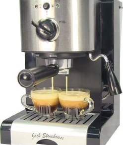 Espresso and Cappuccino Coffee Maker Machine