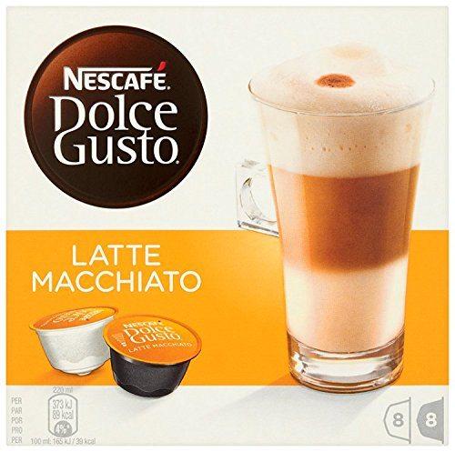 Nescafe Dolce Gusto Latte Macchiato Coffee Pods Cost