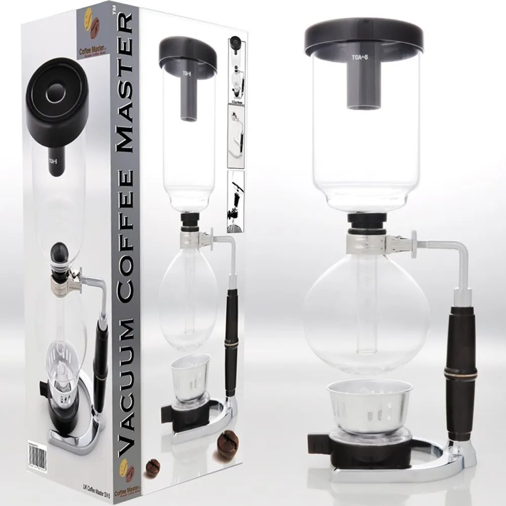 S4U® Coffee Master 5-Cup Syphon