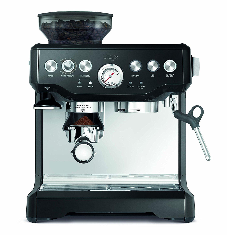 Sage by Heston Blumenthal the Barista Express Coffee Machine and Grinder Black
