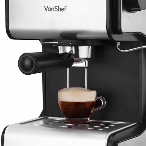 VonShef Espresso Coffee Machine