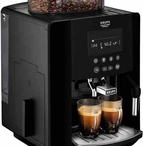Krups Arabica bean to cup machine