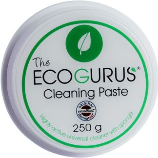 The EcoGurus - Highest Strength Natural Cleaner & Sponge! - Clean Your Kitchen Cooker, Pots, Pans, Oven, Cooktop, Stove, Bathroom, Faucets, Shower, Tiles, Toilet, Lime, BBQ, etc…
