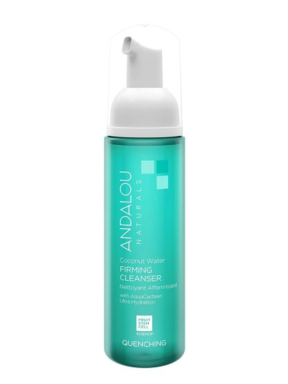 Andalou Naturals Coconut Water Firming Cleanser, 5.5 Ounce Hydrating Facial Cleanser