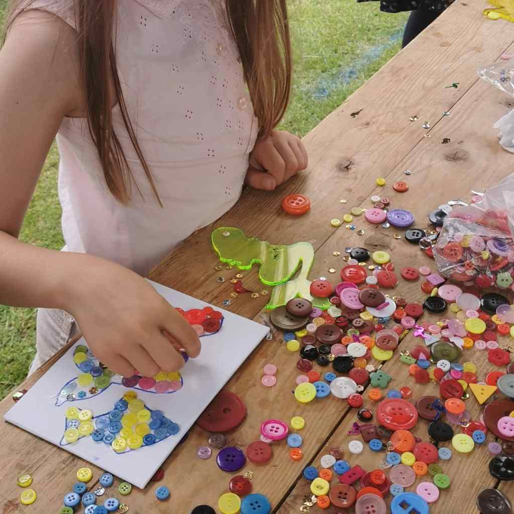 crafts at art in teh park, leamington