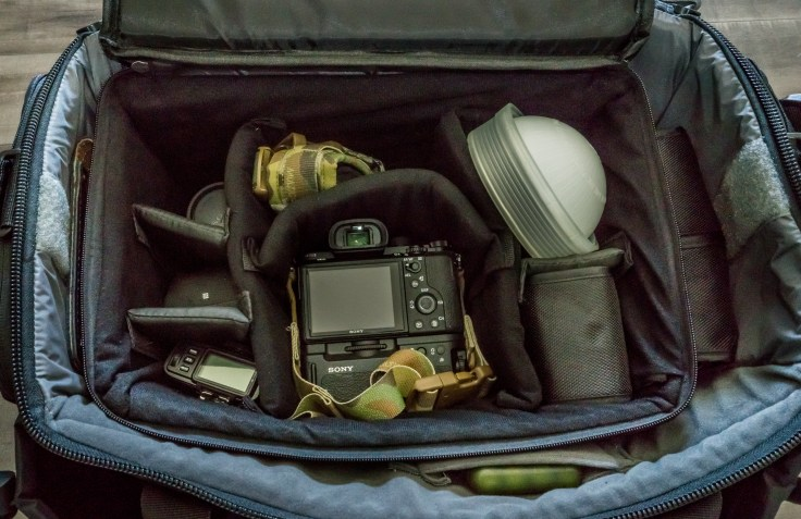 First Tactical Guardian Patrol Bag - Interior organisation shot