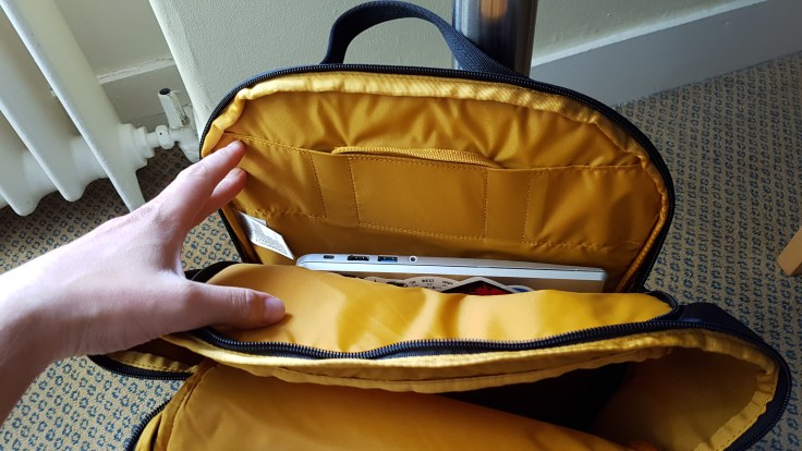 The North Face Ka Ban Review Top Laptop Compartment