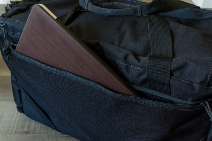 first tactical guardian patrol bag review laptop shot