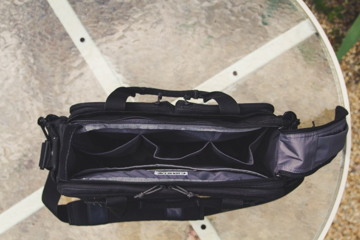 First Tactical Executive Briefcase review main compartment empty