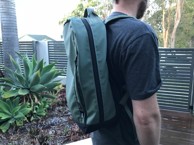 The Brown Buffalo Conceal Review Wearing