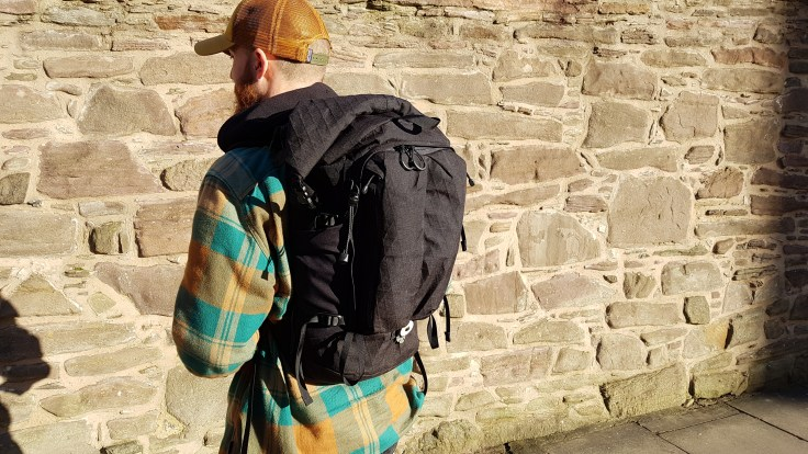 Remote Equipment Alpha 31 Backpack review on body