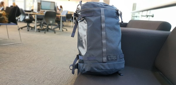 Mystery Ranch Robo Flip backpack review galaxy blue office university use