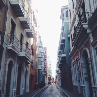 I just love the architecture in Old San Juan