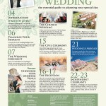 The Perfect Wedding Issue 6 Contents Page 1