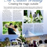 The Perfect Wedding Issue 7 Contents page 17