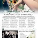 The Perfect Wedding Issue 7 Contents page 21