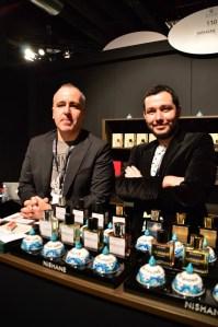 Mert Güzel & Murat Katran from Nishane at Esxence 2016 | Photo by The Perfume Magpie