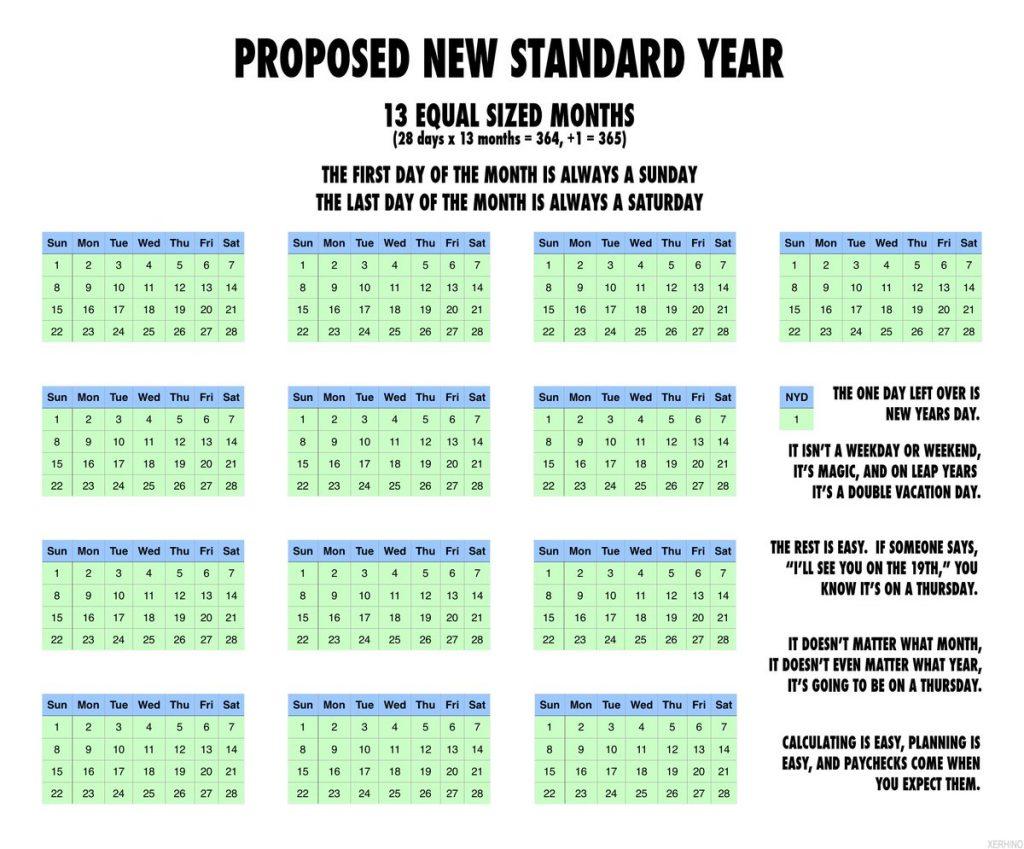 International Fixed Calendar