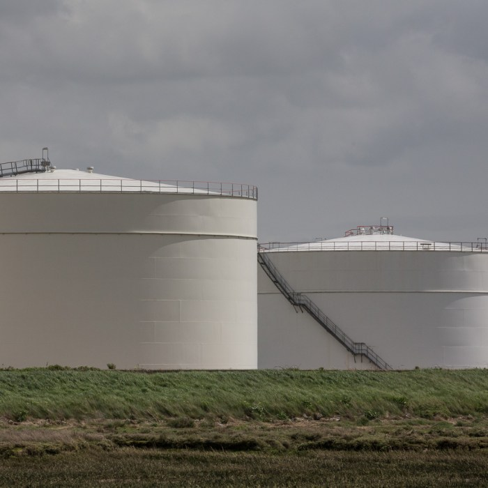 Liquefied Natural Gas (LNG) facility, Grain.
