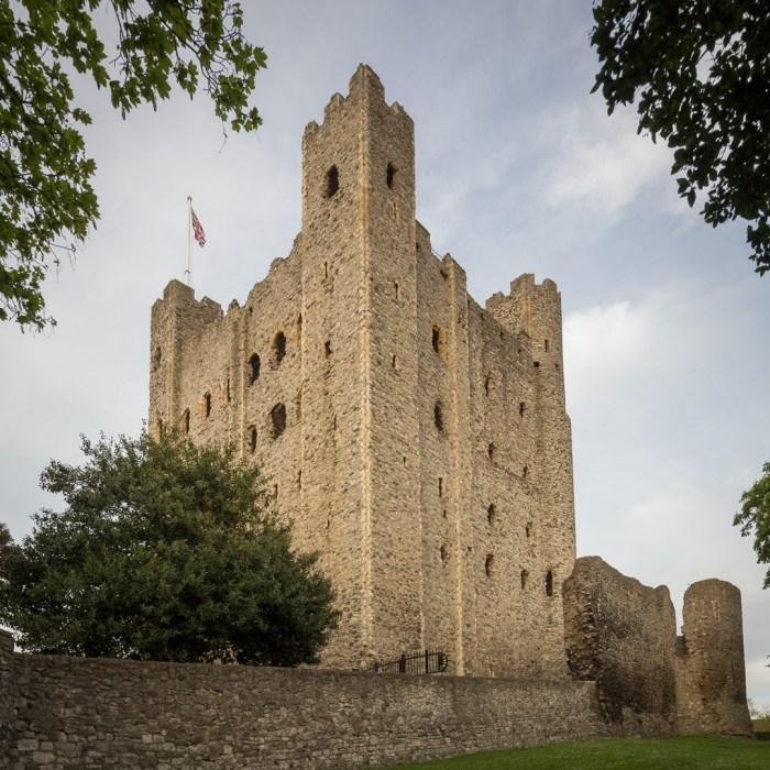Rochester Castle Keep, built around 1127.