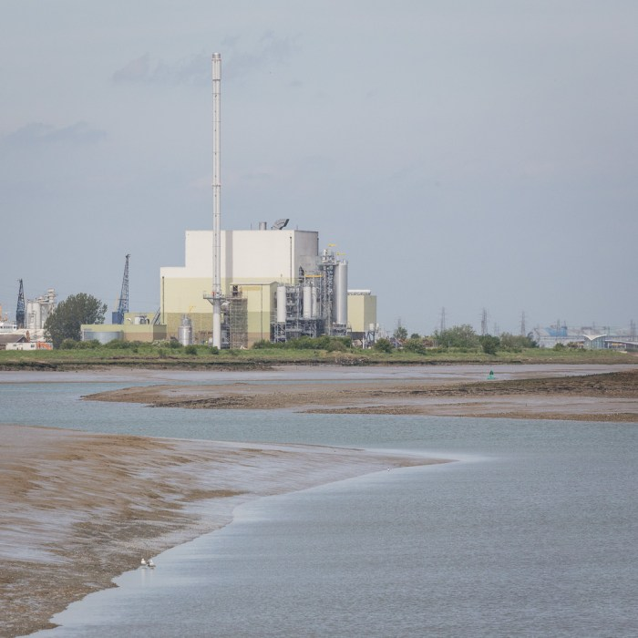 Milton Creek and Combined Heat & Power (CHP) plant which provides Kemsley Paper Mill with steam and electricity from solid waste.