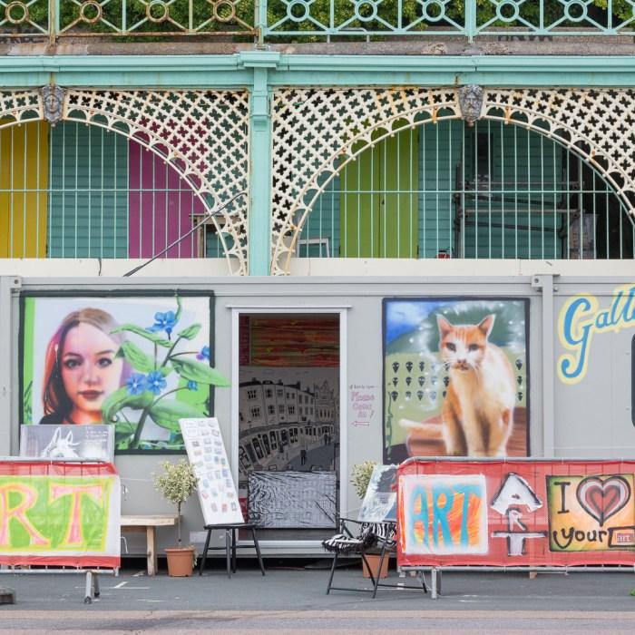 I Love Your Art, Brighton.