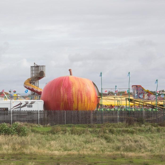 West Sands Fun fair, Selsey, Sussex.