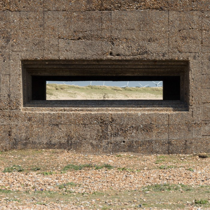 Rye Harbour Pill Box II, Sussex.