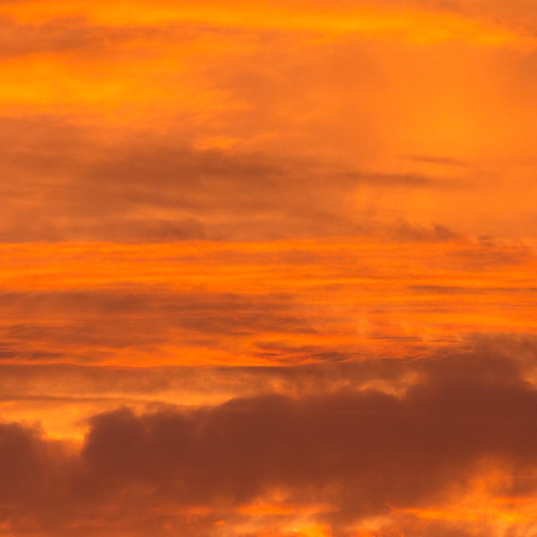 Fire Sky, Dorset.