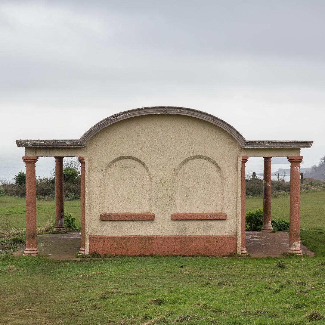 Shelter on Walls Hill, Babbacombe, Devon.