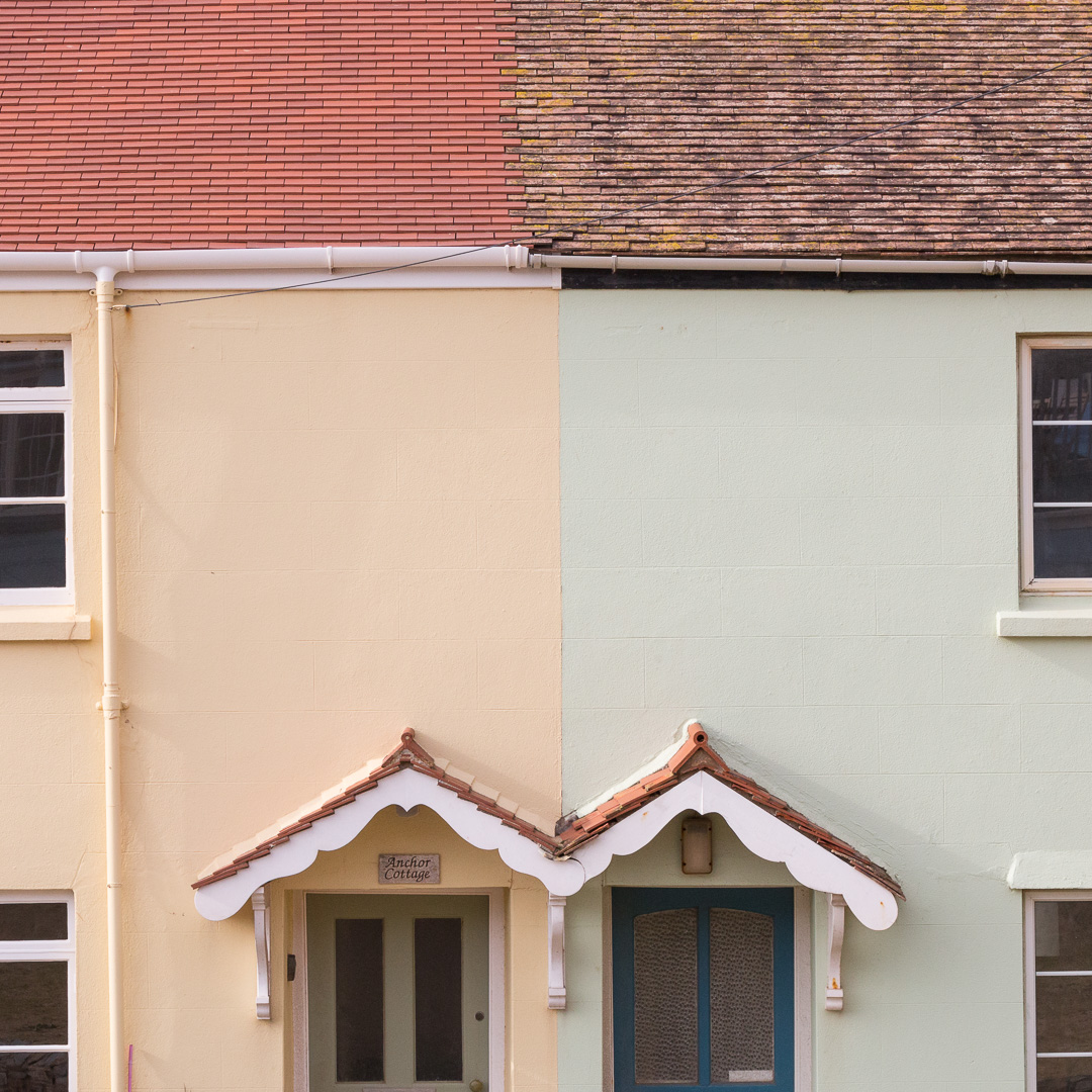 Neighbours, Outer Hope, Devon.