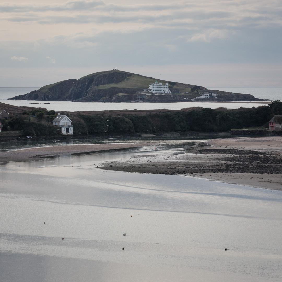 River Avon and Burgh Island, Devon.