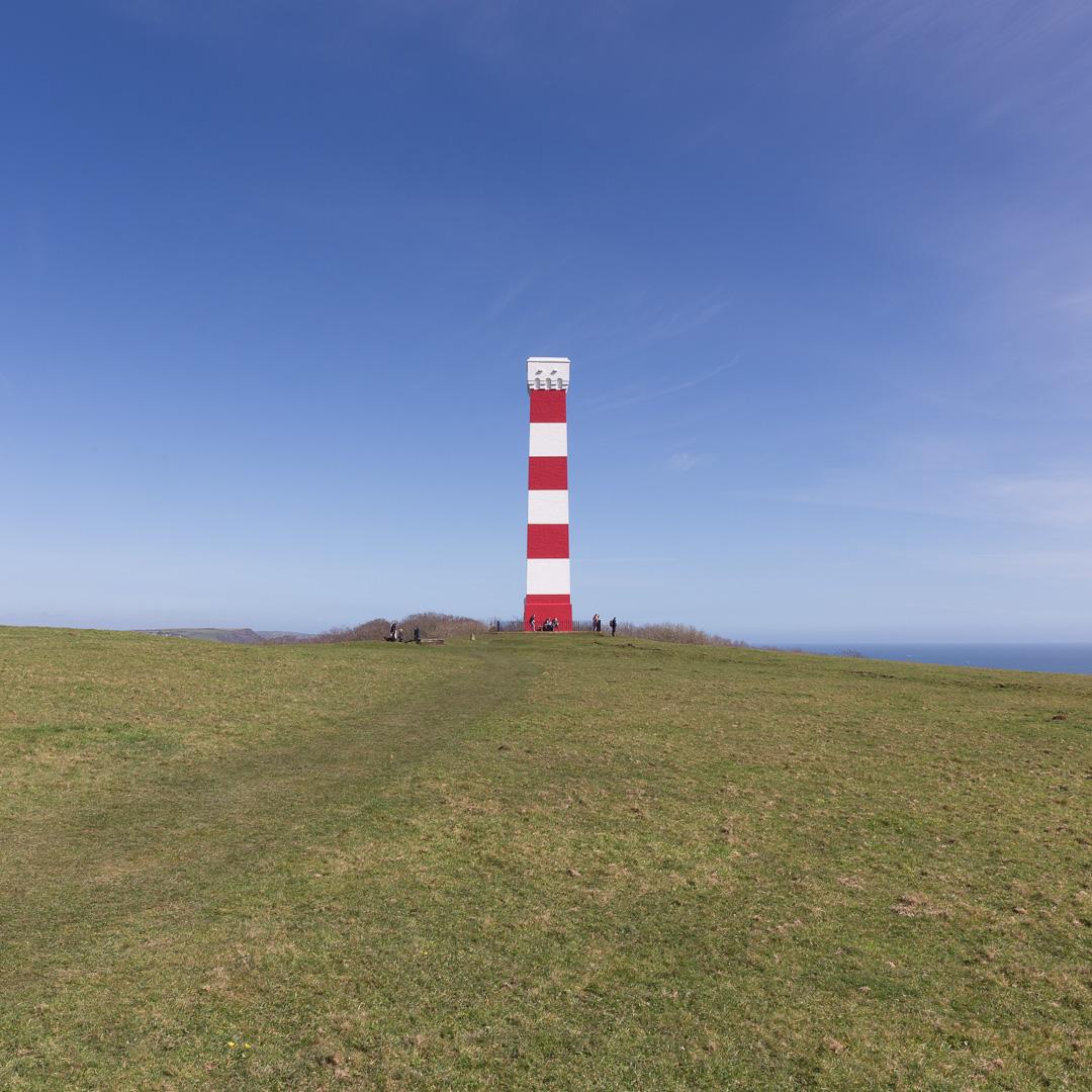 Gribbin Tower Daymark III, Gribbin Head, Cornwall.