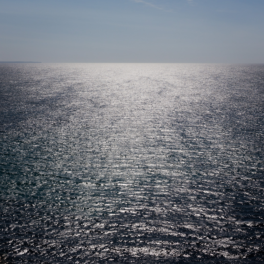 Seascape from Hella Point, Cornwall.