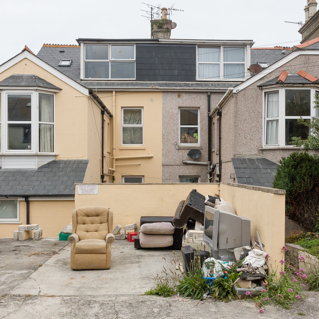 Private Property, Newquay, Cornwall.