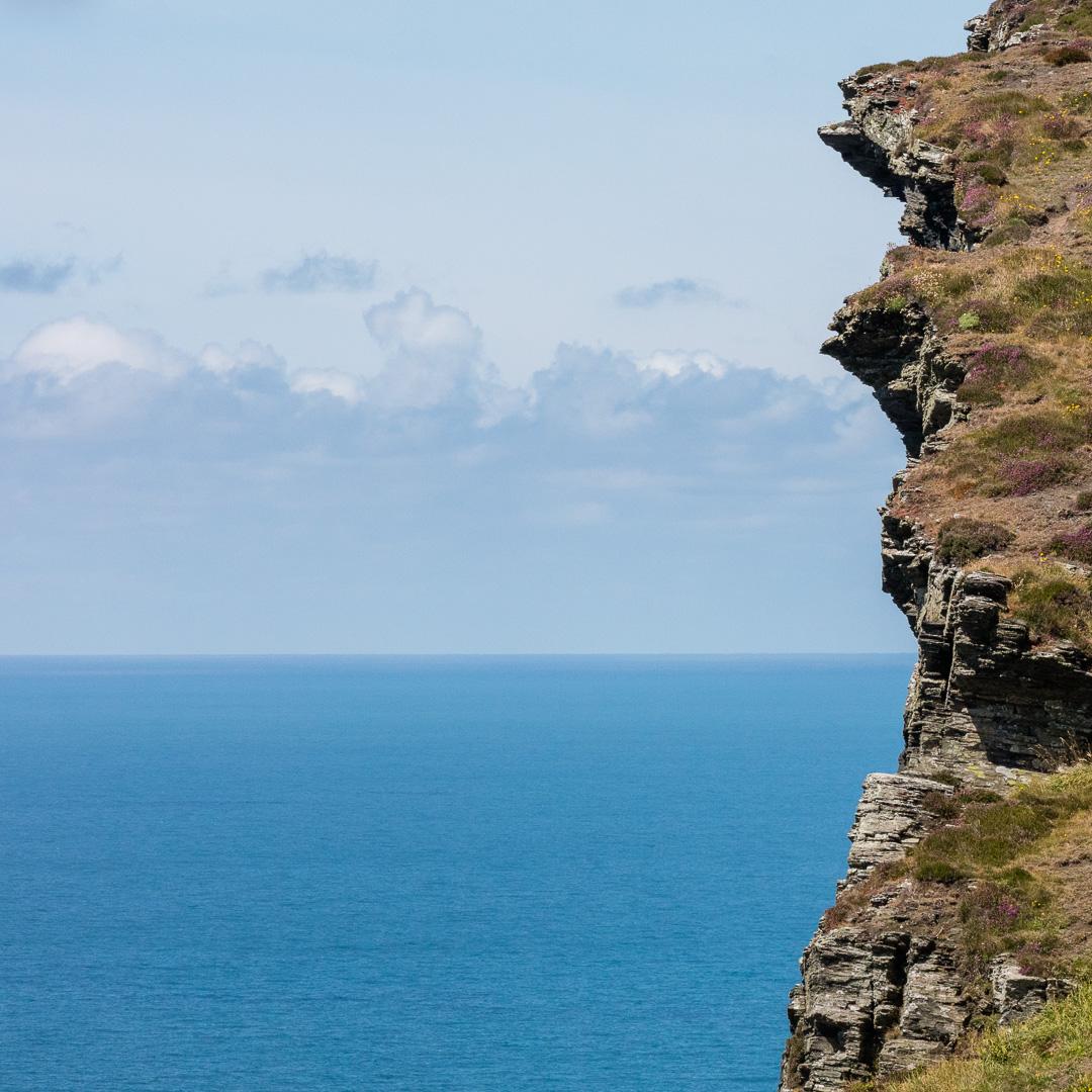 Buckator cliff III, Cornwall.