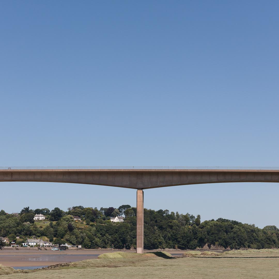 Torridge A39 Road Bridge, Bideford, Devon.